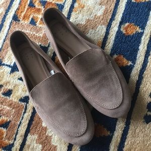 A new day size 8 suede flats - real leather
